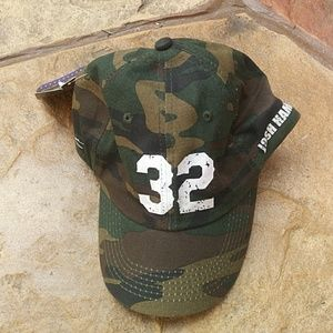 Other - Camo Josh Hamilton Hat NWT